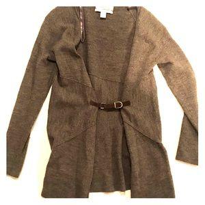 Ellen Tracy belt detail cardigan